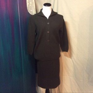 1950's Jantzen Knit Suit, Cardigan and Skirt